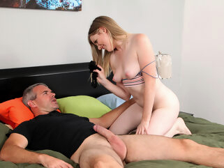 Nikki Sweet in Teaching Daddy A Lesson - StepSiblingsCaught big ass hairy small tits