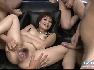 Real Japanese Group Sex Uncensored Vol 6 on JavHD Net amateur asian compilation