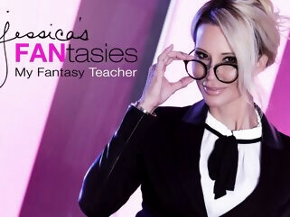 jessica drake in jessica's FANtasies - My Fantasy Teacher anal big tits blonde