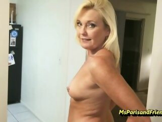 Staying Horny Is Not Acting for Ms Paris msparisandfriends milf shaved