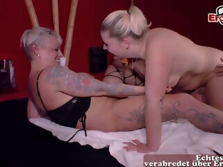 german big tits housewifes at real swinger threesome ffm amateur big tits german